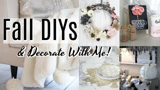 DIY Fall Decor & Decorate With Me! iHeartFall Ep 8 - MissLizHeart
