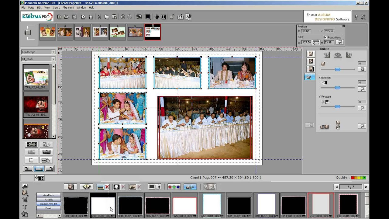 Wedding Album Design Software For Photoshop