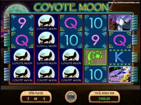 IGT Coyote Moon Slot Machine Online Game Play