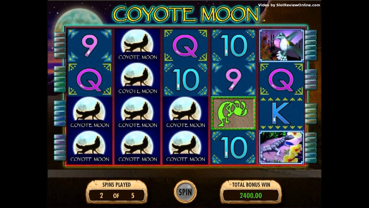 free slots games coyote moon