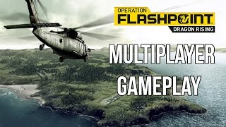 Operation Flashpoint Dragon Rising - MASSIVE FIREFIGHT! ft. Bluedrake42