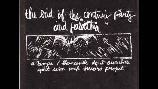 "PALATKA / END OF THE CENTURY PARTY - split 7"" - 1996"