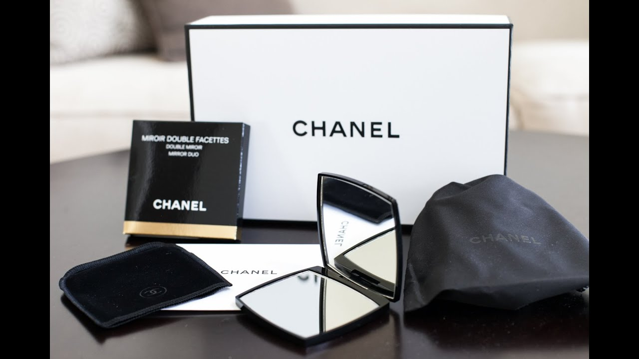 ce94c71ac6a1 Chanel Compact Double Mirror Unboxing - YouTube