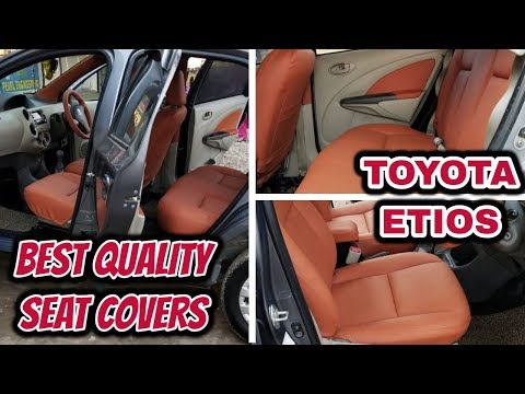 Toyota Etios Modification | Best Place To Buy Car Seat Covers | Born Creator