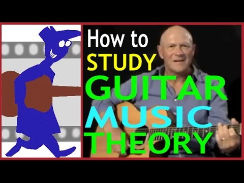 How to study guitar music theory