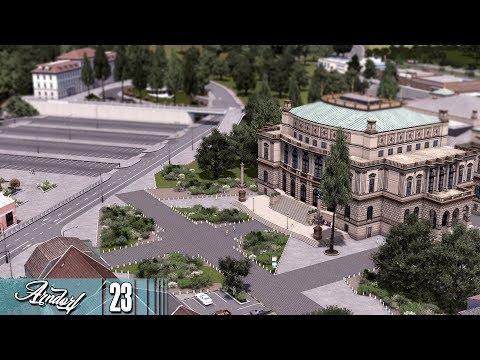 Cities Skylines: Arndorf - Museum of History, New Hotel, Twin Towers #23 |
