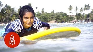 Sri Lanka's First All-Female Surf Club