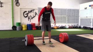 The Anti-hype up method - Alternate Grip Deadlift - 180kg
