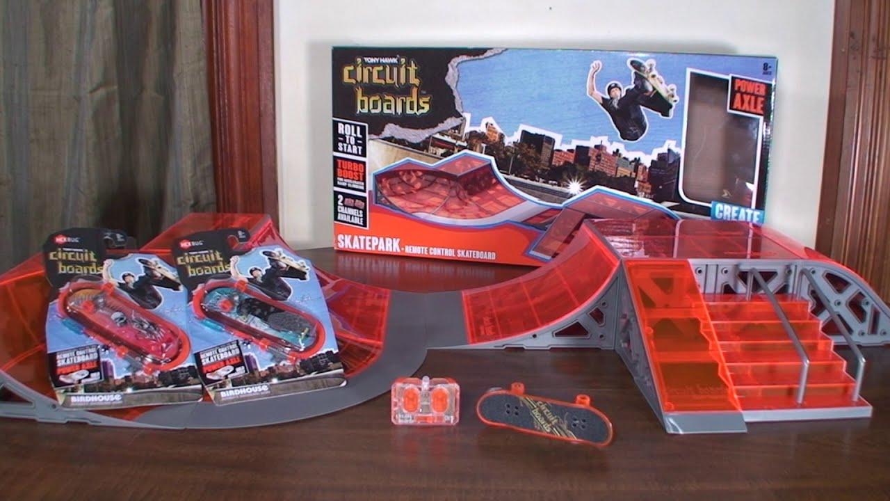 Hexbug Tony Hawk Circuit Boards Rc Skateboard Review