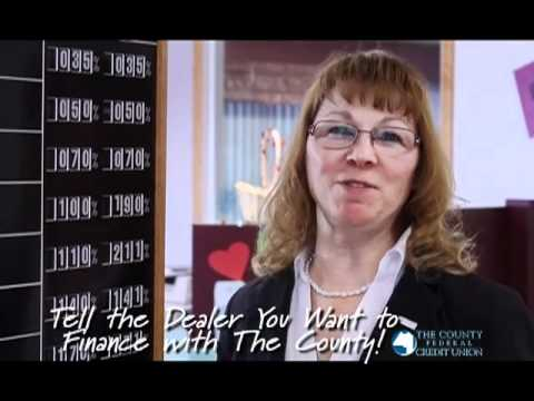 COUNTY FEDEREAL CREDIT UNION Great Rate 2012
