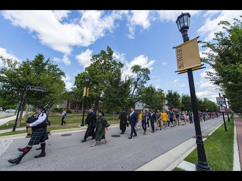 August 18, 2017 - DePauw University Welcomes 630 New Students to Campus