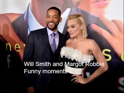Will Smith and Margot Robbie Funny Moments
