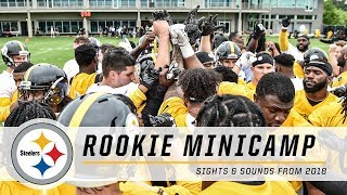 2018 Pittsburgh Steelers Rookie Minicamp | Sights & Sounds