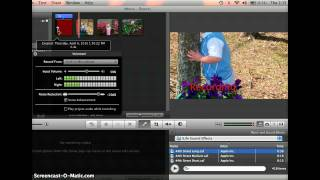 Creating Video Podcasts with iMovie