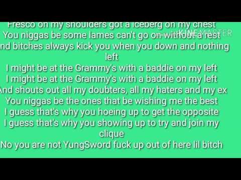 """Yori feat. YungSword """"Let You Go"""" Lyrics"""