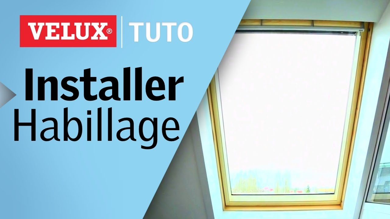 tuto comment installer un habillage int rieur velux youtube. Black Bedroom Furniture Sets. Home Design Ideas