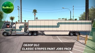 [ATS] ОБЗОР CLASSIC STRIPES PAINT JOBS PACK