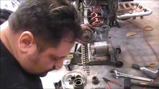1987 2007 Honda TRX 300 EX TRX 250X Carrier Bearing step by step Vlog
