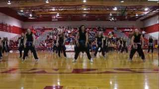 Rapid City Central Coeds Performance 1-3-12