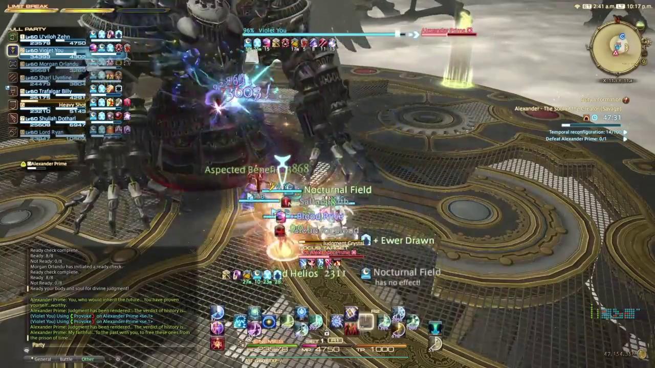 A12S Solo Heal - Final Fantasy XIV