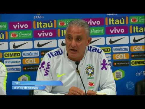 Seleção Brasileira está pronta para amistoso contra Croácia