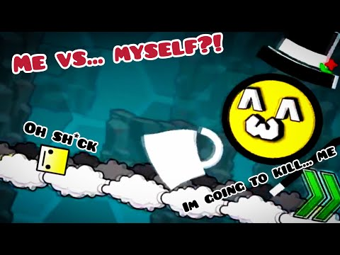 Me vs... Myself?! | level request episode 10 | Geometry dash 2.1