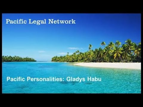 Pacific Personalities Interview: Gladys Habu