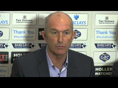 Tony Pulis unveiling as Crystal Palace manager - 25.11.2013