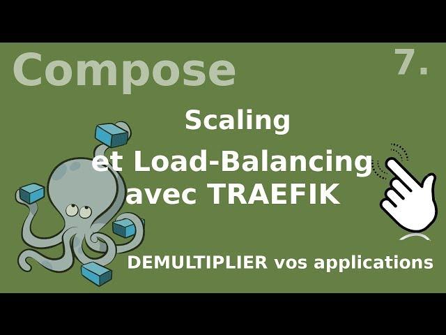 Docker compose - 7. Scaler une application | tutos fr
