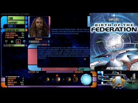 Let's Play Star Trek Birth of the Federation - Part 1 To Boldly Go