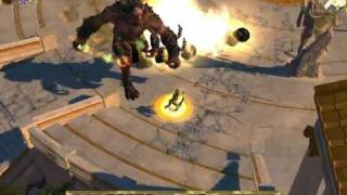 Titan Quest gameplay: Typhon Bane of the Gods