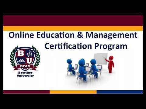Training vs. Education Week 3 - Online Education and Management Certification Program