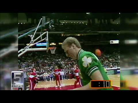 Top 10 plays of Larry Bird
