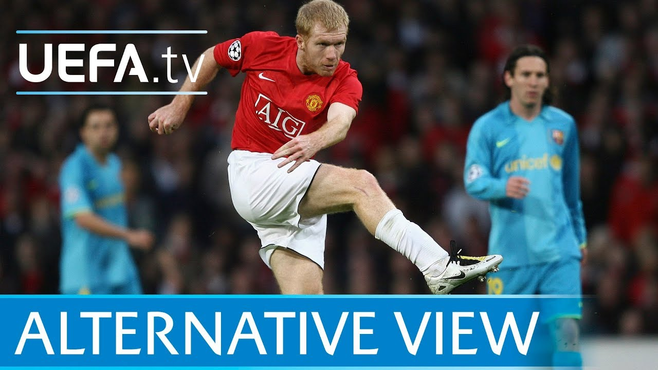 Download Paul Scholes screamer from every angle! Manchester United v Barcelona