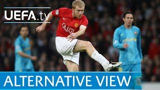 Download Video Paul Scholes screamer from every angle! Manchester United v Barcelona MP3 3GP MP4