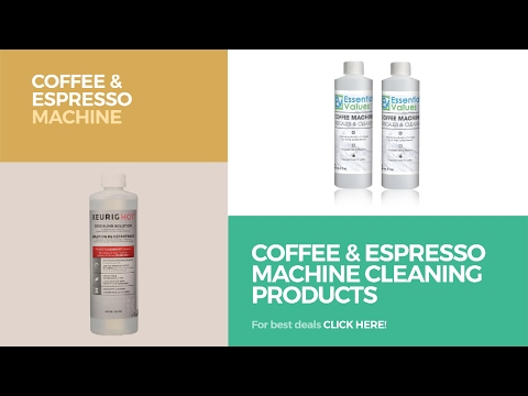 Coffee & Espresso Machine Cleaning Products // Coffee & Espresso Machine Accessories Best Sellers