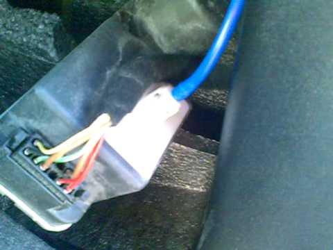 hqdefault polo gti central locking pump youtube vw polo central locking wiring diagram at highcare.asia