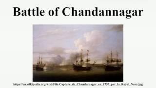 Battle of Chandannagar
