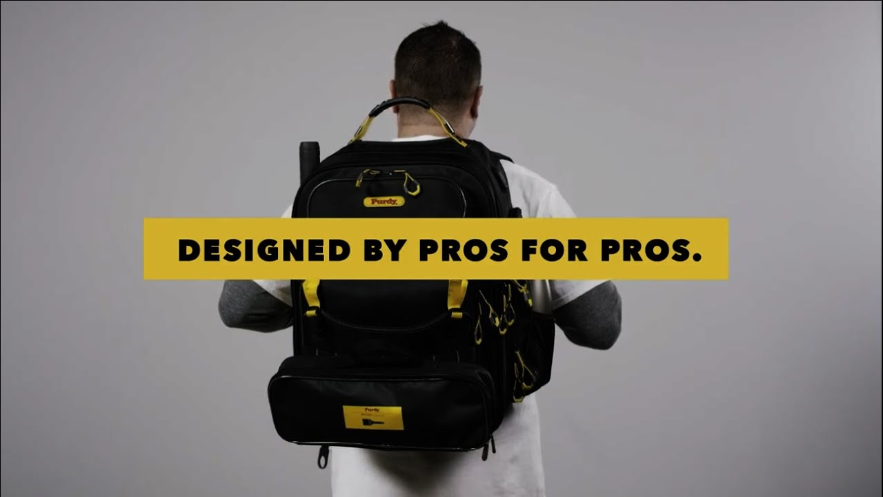 The Purdy® Painter's Backpack