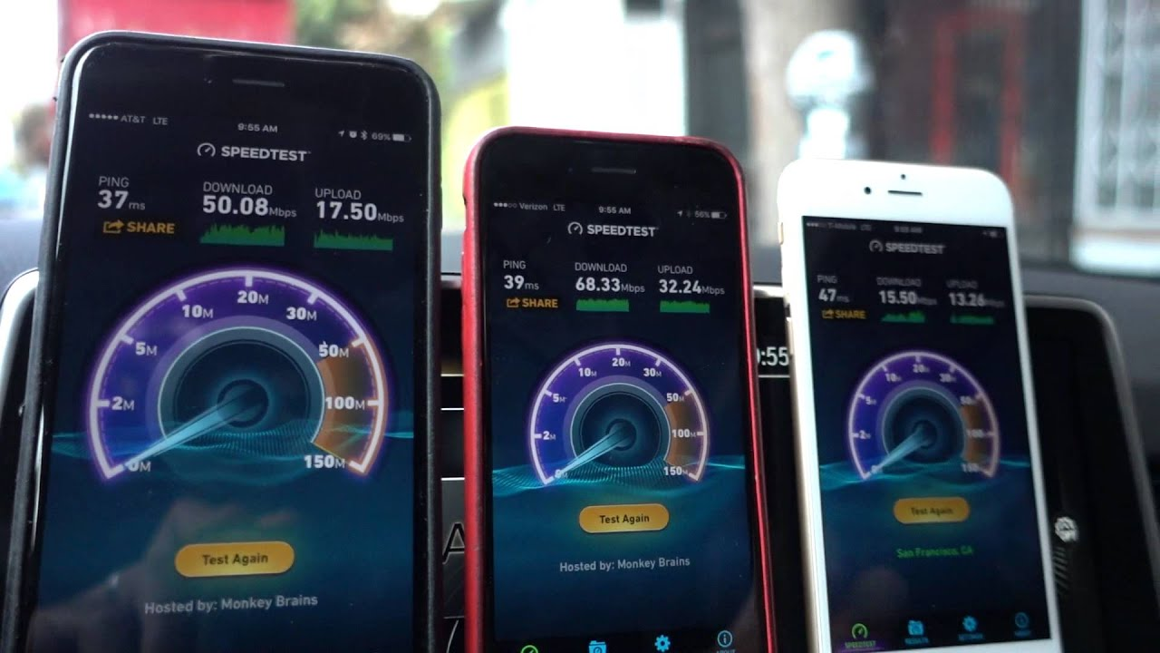 iphone speed test iphone 6s speed test in san francisco valley at amp t 12338