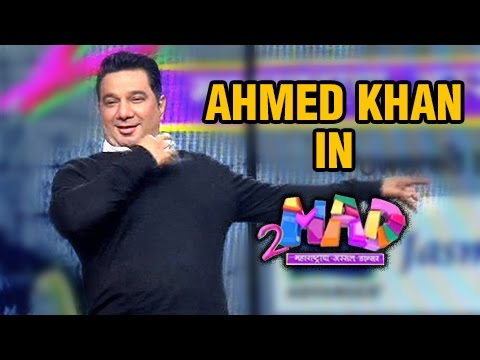 Ahmed Khan In 2 Mad Reality Show | Colors...