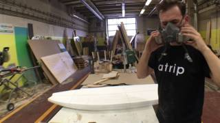 DIY surfboard time-lapse
