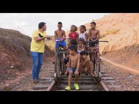 To Indo - Mário conhece 'biciclotrem' de Cataguases