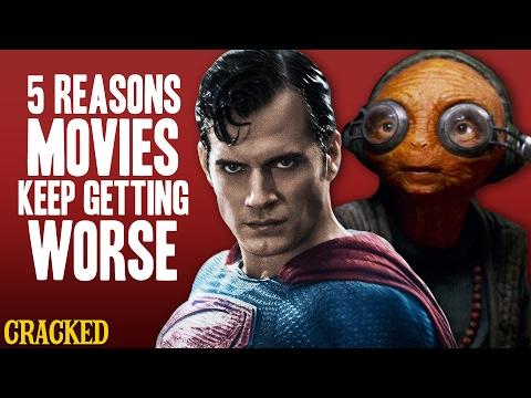 5 Reasons Movies Keep Getting Worse