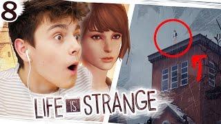 Czy ona ZESKOCZY z DACHU!? - Life is Strange #8
