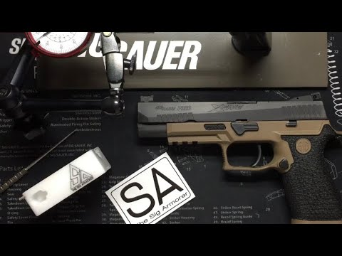 The Sig Armorer P320 competition level action job review
