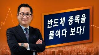 [유동원의 글로벌 투자 이야기] 반도체 종목을 들여다 보기!