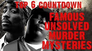 TRUE SCARY STORIES! Top 6 Countdown! Famous Mysterious Unsolved Murders!