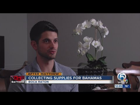 Boca Raton resident collects supplies to send to Bahamas after Matthew