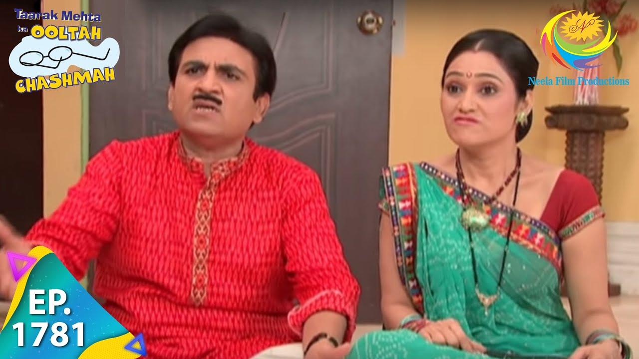 Download Taarak Mehta Ka Ooltah Chashmah - Episode 1781 - Full Episode